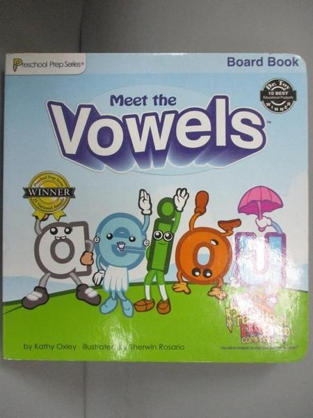 【書寶二手書T3/少年童書_KOI】Meet the Vowels_Kathy Oxley