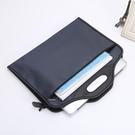 旅行收納袋 牛津布手提文件袋A4帆布商務拉鍊公事包男女士宣傳資料袋政府開會會議袋小c推薦
