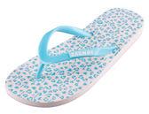童鞋 LOVELY討人喜愛新豹紋花夾腳拖鞋-藍帶【ZABWAY】ZSKR15002_PINK-LT-GREEN