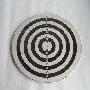 飛鏢盤兩面用  內送6支鏢針