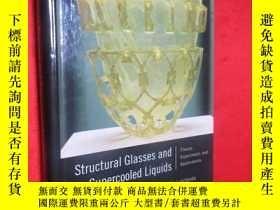 二手書博民逛書店Structural罕見Glasses and Supercoo