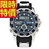 電子手錶-防水品味設計運動腕錶3色58j27【時尚巴黎】