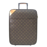 LOUIS VUITTON LV 路易威登 原花拉桿行李箱 Monogram Pegase 45 M23251 【BRAND OFF】