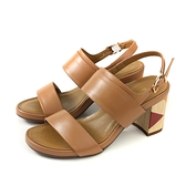 HUMAN PEACE 涼鞋 粗跟 棕色 女鞋 65135 no305