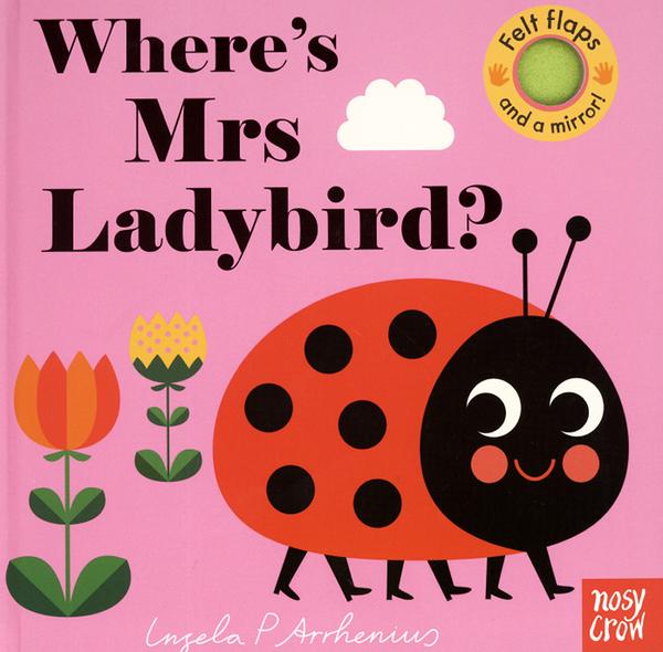 【幼兒感官觸摸翻翻書】WHERE'S MRS LADYBIRD?/翻翻書+小鏡子《主題:昆蟲》