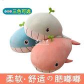 玩偶毛絨玩具女生抱枕公仔可愛懶人抱著睡覺的大布娃娃玩偶鯨魚萌海豚YYS 伊莎公主
