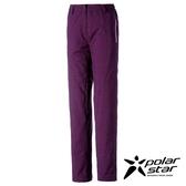 Polarstar 女防潑水保暖長褲『紫/紅紫』排汗│透氣│保暖 P16414