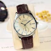 韓版手錶男女學生韓版簡約防水男女錶皮帶休閒石英錶情侶手錶一對  小時光生活館