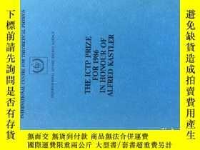 二手書博民逛書店THE罕見ICTP PRIZE FOR 1986 IN HONO