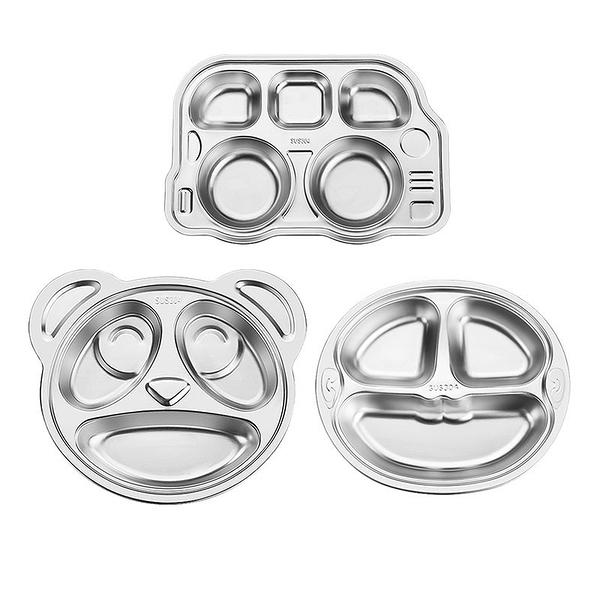 304兒童餐盤(車車/熊貓/猴子)【蝦皮團購】