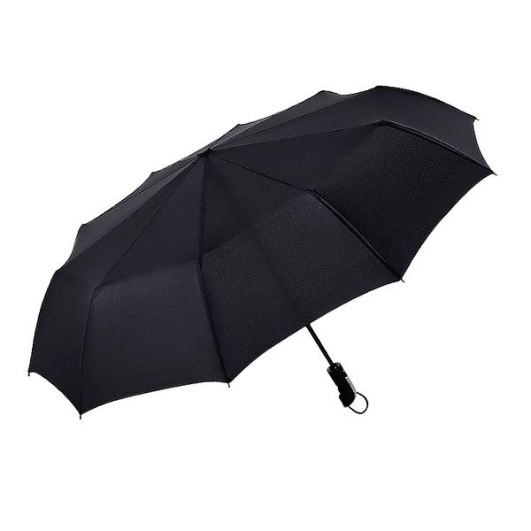 「指定超商299免運」 十骨全自動傘 晴雨傘 摺疊傘 商務傘 雙人傘 兩用 遮陽傘 三折傘【F0309】