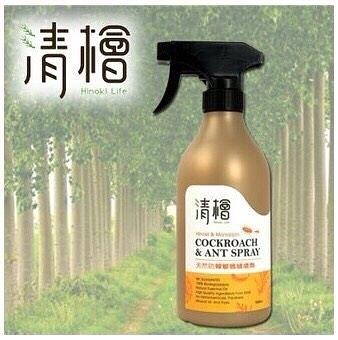清檜 天然防蟑螂螞蟻噴劑 一瓶500ml