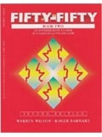 二手書 Fifty-Fifty Book Two: An Intermediate Course in Communicative English, Second Edition (Student  R2Y 0139200347