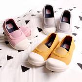 經典百搭繃帶鞋 懶人鞋 素面 帆布鞋 休閒鞋 童鞋 男童 女童 鞋子 Augelute 60346