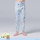 【WIWI】耶誕三眼怪溫灸刷毛九分發熱褲(水漾藍 童100-150)