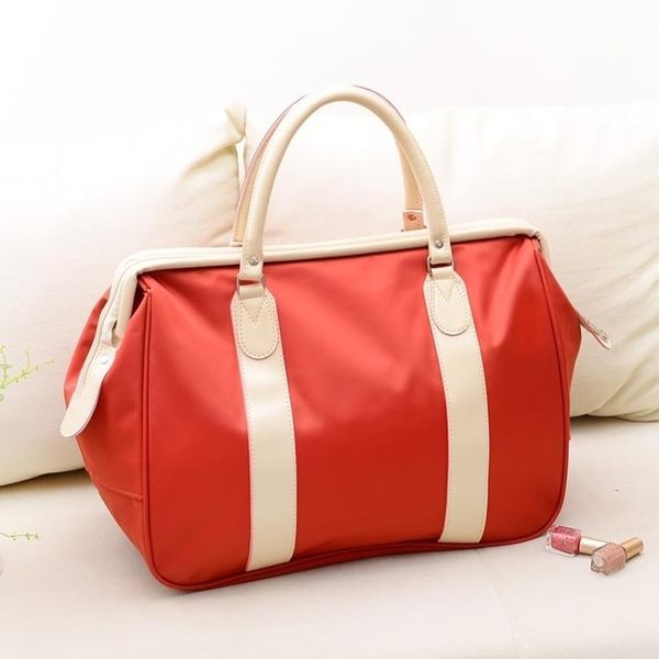 店長推薦★旅行包女手提包大容量行李包短途女旅游包出差登機包韓版潮旅行袋
