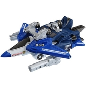 《 TAKARA TOMY 》緊急救援隊  變形機器人 - 藍色特警飛機  /  JOYBUS玩具百貨