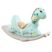 寶寶搖椅馬塑料音樂搖搖馬大號加厚兒童玩具1-2周歲禮物小木馬車