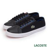 LACOSTE 女用休閒鞋-黑色 933