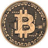 【台灣大洋金幣】美國比特幣1盎司鍍金銀幣
