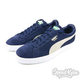 Puma Suede Classic 經典 深藍白 麂皮 寬鞋帶 復古 情侶鞋 男女 35656851☆SPEEDKOBE☆