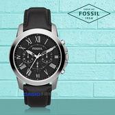 FOSSIL 手錶 專賣店 FS4812 男錶 石英錶 皮革錶帶 防水 強化玻璃鏡面  全新品 保固一年 開發票