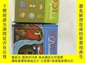 二手書博民逛書店1001罕見symbols、1001 dreams (2本合售)
