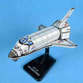 佳廷模型 親子DIY紙模型3D立體拼圖贈品獎勵品專賣店 靜態飛機模型2 美國發現號太空梭3 卡樂保