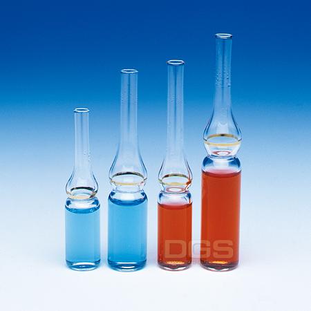 《WHEATON》透明安瓶 冷凍用 Ampul, Glass Cryule, Pre-Scored