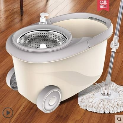 拖把-索邦拖把桶旋轉拖把免手洗家用雙驅動懶人自動擠水干濕兩用拖布桶