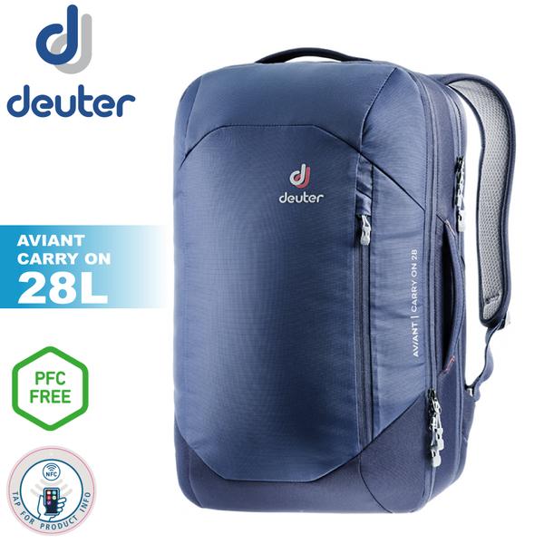 【Deuter 德國 AVIANT CARRY ON 多功能旅遊背包 28L《藍》】3510020/雙肩後背包/自助旅行