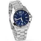 CASIO卡西歐沉穩藍面指針腕錶 石英錶【NEC106】