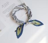 小方巾女菱形小領巾裝飾絲巾