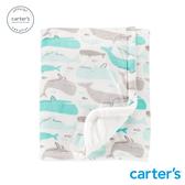 【美國 carter s】海洋海豚包巾-台灣總代理