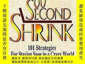 二手書博民逛書店60罕見Second Shrink: 101 Strategie