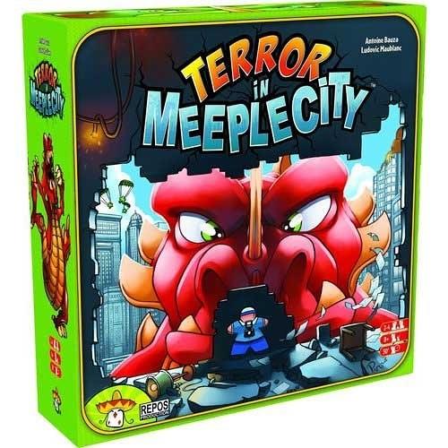 『高雄龐奇桌遊』 暴走彈彈獸 Terror In Meeple City 新版 Rampage ★正版桌上遊戲專賣店★