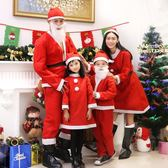 圣誕老人服裝成人套裝圣誕服飾套裝男女孩兒童圣誕節服裝圣誕衣服
