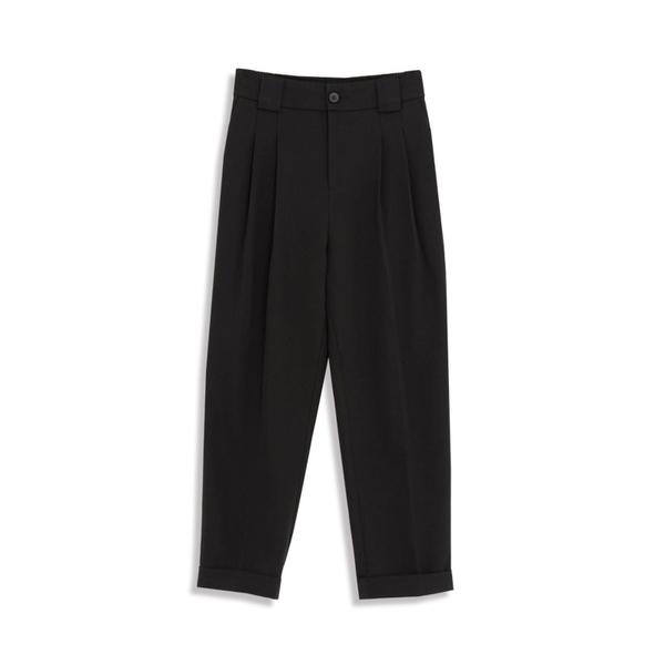 Queen Shop【04030256】下擺反摺造型西裝長褲 兩色售 S/M/L/XL*現+預*