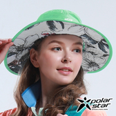 PolarStar 輕量防潑水雙面圓盤帽『蘋果綠』P16518 抗UV帽│登山帽│路跑慢跑帽│遮陽帽│防曬帽