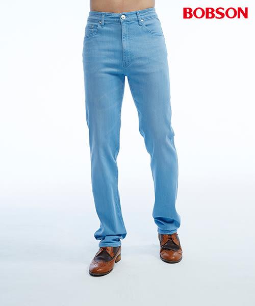 BOBSON 男款高腰彈性直筒褲(1810-58)