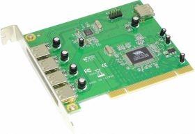 新竹【超人3C】Awesome 7 Port USB 2.0 PCI 擴充卡 AWD-6202-C7