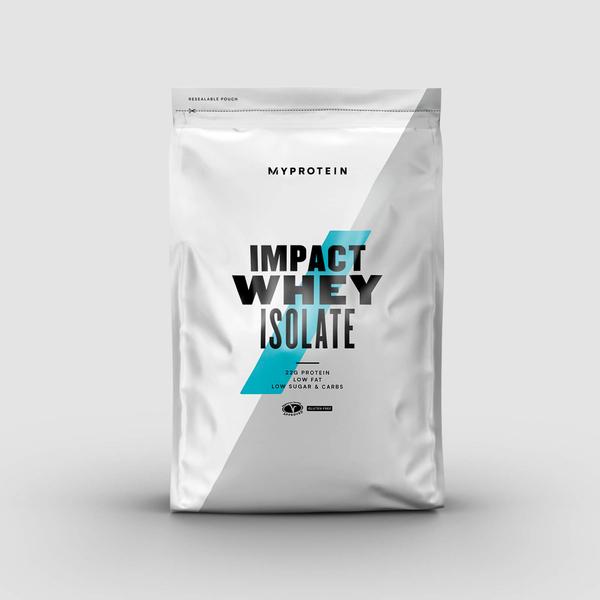 【即期特賣-買一送一】MYPROTEIN IMPACT 分離乳清蛋白粉 香草 1KG*2(效期至2021.7.31)