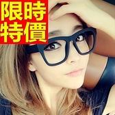 眼鏡架-韓版時尚復古粗框女鏡框4色64ah15[巴黎精品]
