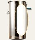 搖蜜機 搖蜜機304全不銹鋼小型家用蜂蜜工具養蜂全套中蜂加厚甩蜜打糖機【快速出貨八折搶購】