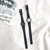 手錶 chic風冷淡風小表盤手錶女迷你小巧復古文藝簡約韓版中學生學院風    英賽爾3C數碼店