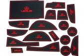 凌志 LEXUS 14年 NX系列 專用 18片 止滑防水 製震杯墊 置物墊 門邊墊 止滑墊 防水墊