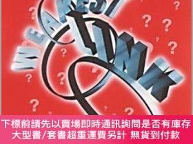 二手書博民逛書店Let s罕見Play The Weakest Link (the Junior Quiz Book)Y255