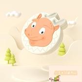 寶寶胎發保存收藏盒乳牙盒女孩紀念換牙收納盒小寶寶乳牙【小玉米】