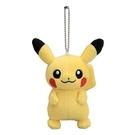 【皮卡丘 娃娃吊飾】寶可夢 pokemon 皮卡丘 吊飾娃娃 包包吊飾 該該貝比日本精品