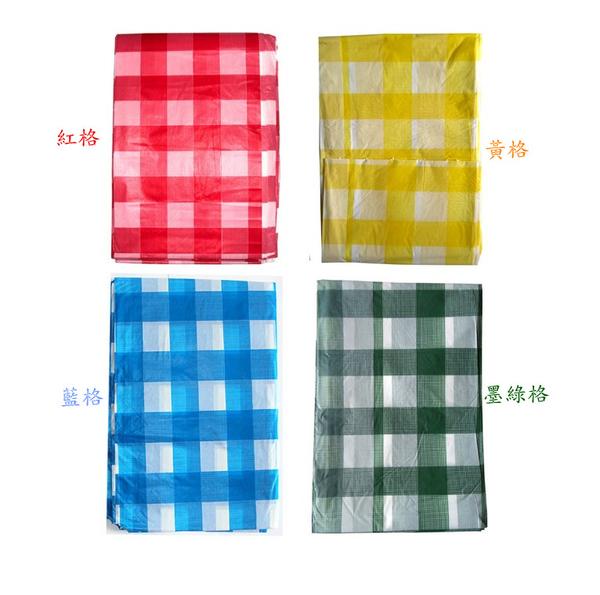 [韓風童品]一次性格子款加厚桌布 派對桌巾 防水防油加厚桌布 生日派對 露營桌布 長方形桌布